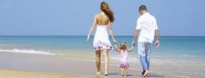 spiaggia famiglia